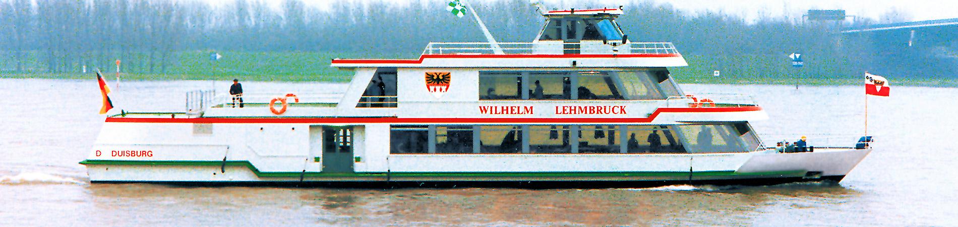 Meidericher Schiffswerft Duisburg - Schiffsneubauten