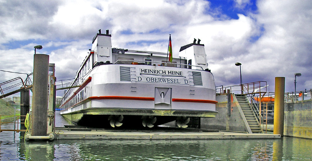 Meidericher Schiffswerft MSW Duisburg - Dock