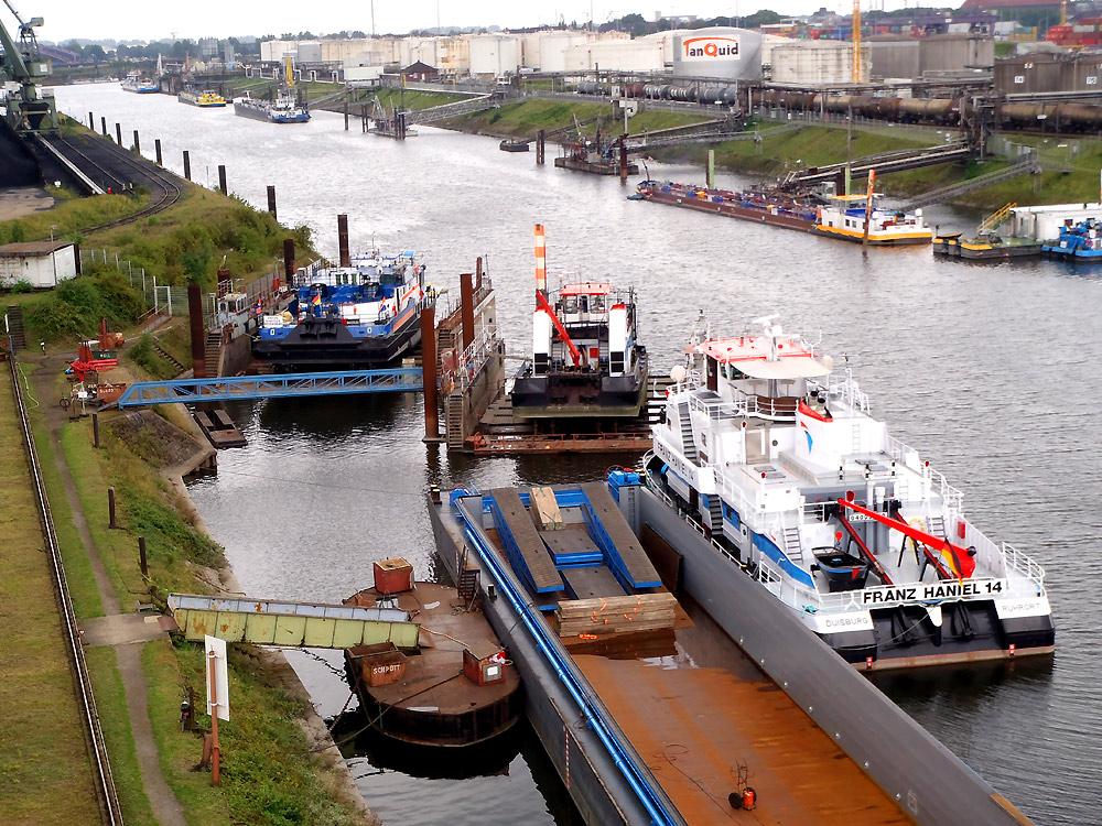 Meidericher Schiffswerft MSW Duisburg - Stevendocks