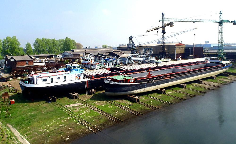 Meidericher Schiffswerft MSW Duisburg - Hellinganlage