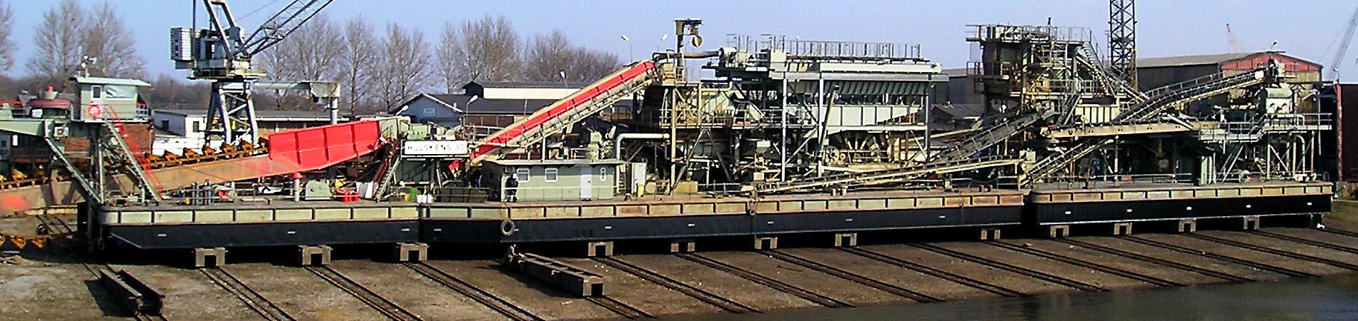 Meidericher Schiffswerft MSW Duisburg - Infrastruktur