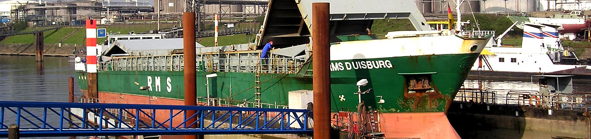 Meidericher Schiffswerft MSW Duisburg - Kontakt