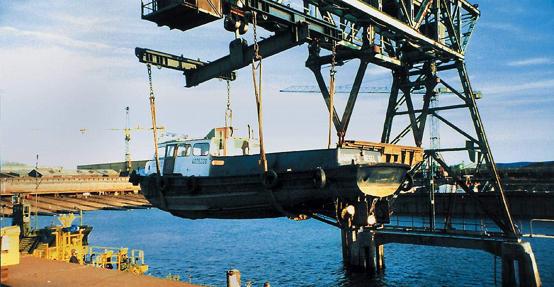 Meidericher Schiffswerft MSW Duisburg - Umschlagkran