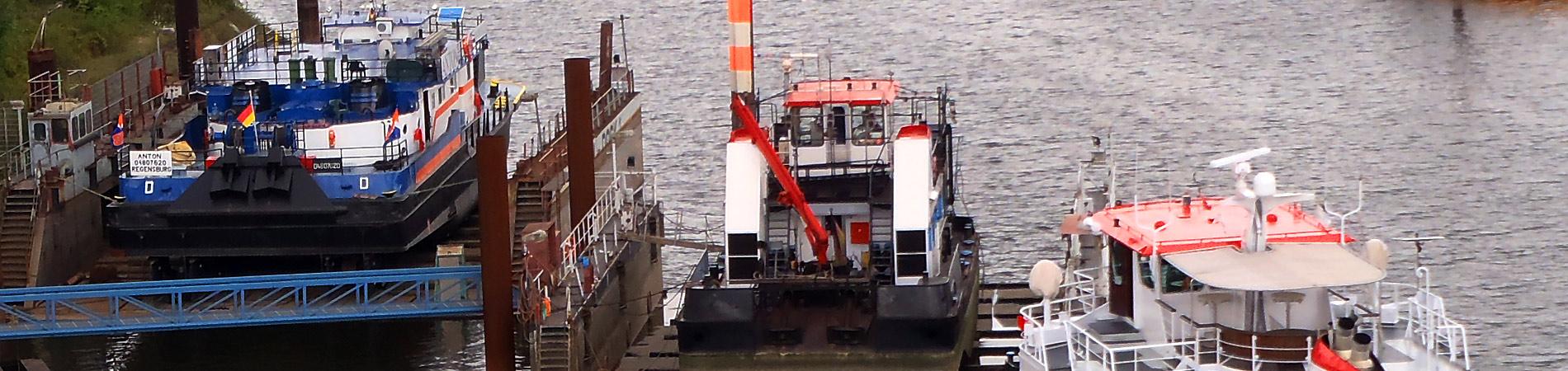 Meidericher Schiffswerft MSW Duisburg - Leistungen