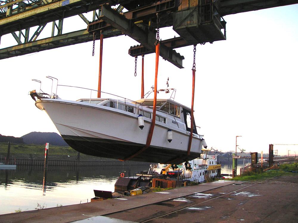 Meidericher Schiffswerft MSW Duisburg - Yachtservice